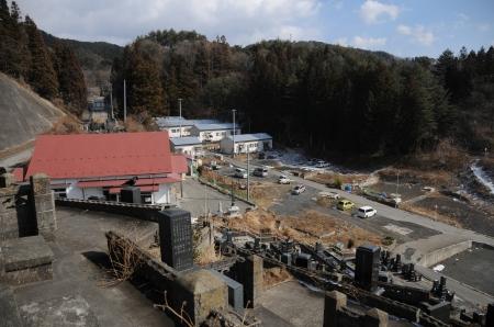 The Temple at Otsuchi (today) Photo and permission Su Grierson