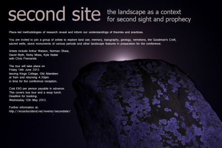 second site flyer