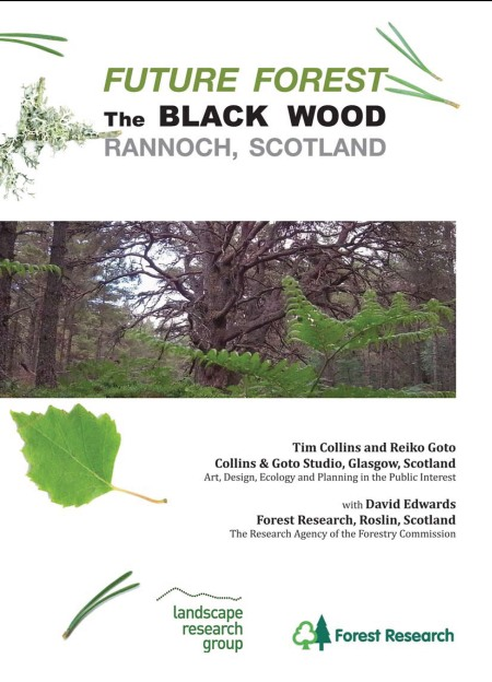 "Cover of report ""Future Forest: The Black Wood, Rannoch, Scotland"" click to download"