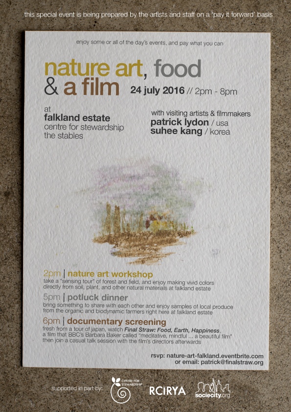 Lydon Kang event-poster-art-food-film-falkland