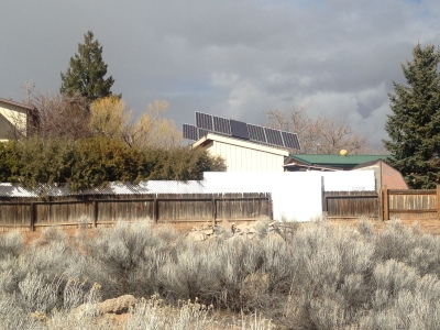 Sample of Sustainable Energy on a private residence